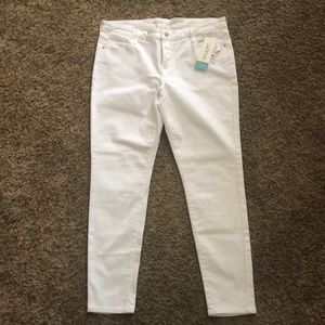 Old Navy Rockstar Built-In Sculpt Jeans White